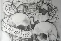 Tattoos / Tattoo ideas and awesome pieces