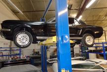 66 Mustang / This was a great restoration project for the shop.