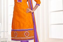 Casual punjabi suits / you can get one from: http://www.sanwaree.com/Shop/SALWARS/Casual-Punjabi-Suits