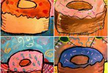 Kuvis, maalausta ja värejä
