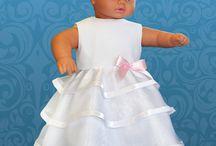 Ubranka chrzcielne dla dziewczynek / Nasze propozycje na chrzest dla dziewczynek.