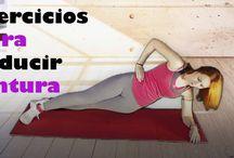 Rutina de ejercicios para tener una cintura más pequeña | Rutinas de ejercicios para la cintura