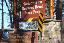 Beavers Bend State Park in Broken Bow, OK / Park and Family Time