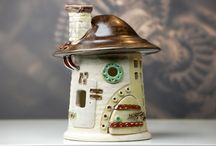 steampunk pottery by Tentaculum / steampunk inspired ceramics from Germany