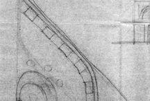 Disegni / Drawings / Basta virtuale, basta pc c'è anche (o c'era?) la matita e anche penna a china! Verosomiglianza versus astrazione: 0 - 1