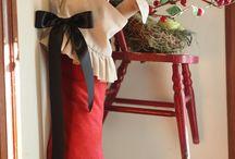 christmas stockings / by Linda Shulist