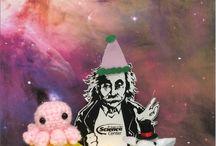#FlatAlbert Einstein! / We're taking Flat Albert on an adventure throughout San Diego!