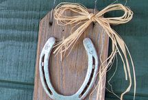 horse shoe crafts
