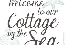 Cozy and cottagy / This is my dream for retirement...., I'm ready now! / by Connie Jervis