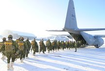 Modern Canadian forces.