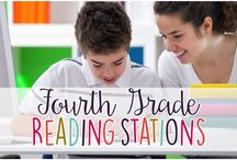 Fourth Grade Reading Stations