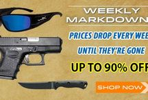 Weekly Markdowns / Visit http://www.poguns.com/More/Weekly-Markdowns_2/ for great deals on discounted items!  FREE Shipping on all orders $79 and up! Friendly Customer Service! Top Brands, Excellent Selection, Superior Prices!