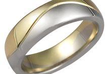 Modern Wedding Bands / by Krikawa Jewelry Designs