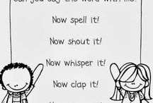 sight words/spelling