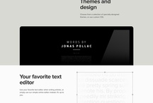 Minimal web design ilike / Sites with the trend minimal design & flat design