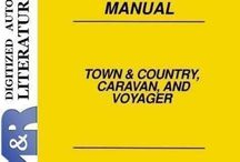 Town & Country , Caravan & Voyager from Chrysler - Dodge - Plymouth , Service Manuals / Service Manuals for Chrysler cars . Included Dodge and Plymouth also .
