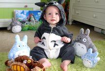 Totoro for Baby / sewing Totoro baby, Totoro nursery, Totoro decor, busy books etc / by Megan Goggans