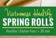 Vietnamis spring roll