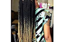 ombre box braids