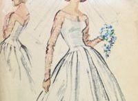 Wedding Dress Patterns and Ideas