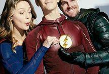 séries super heros