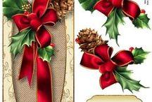 šablony vánoce