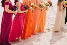 Boho bright wedding