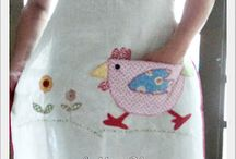 Chicken Aprons & More / by Margaret Syth
