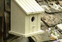 Скворечник or bird houses