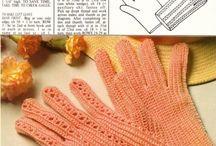 Glove crochet