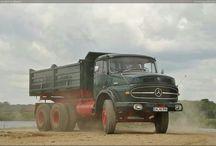 Gamle lastbiler