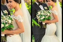 Bride Layla / Bride Layla on her wedding day in her gown by Personalised Weddings Couture