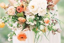 Whimsical loose floral bouquets for modern brides