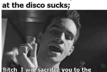 Panic! At the disco ( Brendon's forehead)