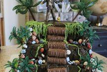 Birthday cake - Indiana Jones