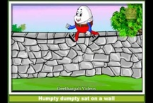 Humpty Dumpty sat on a wall - Nursery Rhymes with Lyrics