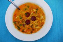 Soups / Warming, hearty and healthy soup recipes for the autumn and winter weather. Great for weight loss too!