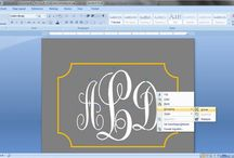 Monogram / by Rubyona Whitworth