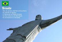 Destinazioni Mondiali 2014 / Lanciamo il Campionato del Mondo di Viaggio: qual è per voi la migliore meta tra le nazioni impegnate in Brasile? Votate a colpi di like, condivisioni e commenti!