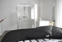 Badkamer voorbeeld 1 / Doe inspiratie op in deze sfeervolle badkamer gerealiseerd door Sanidrõme.