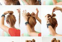 ** saç **hair**