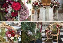 Purple & Red wedding inspiration