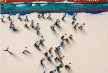 Juan Genoves / Spanish painter