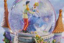 Disney snow globes
