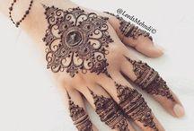 Patrones de henna