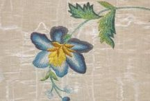18th Century Embroidered Garments / Just what it sounds like. Especial interest in detailed views of the stitchery. Visiting the original site generally leads to multiple images of the same object, which is also helpful.