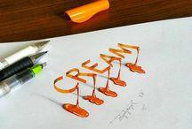 Stylish letter