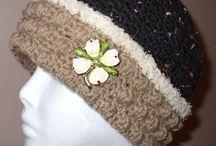Mrs Santa Hat or the Martha Crochet Hat
