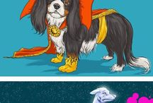 Geek'n Dogs!? / Dogs & pets in costumes