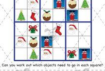 Christmas numeracy